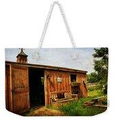 The Stable Weekender Tote Bag by Paul Ward