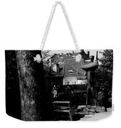 The Statue And The Tree Weekender Tote Bag