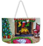 The Stockings Were Hung Weekender Tote Bag