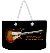 The Strat Les Guitar Weekender Tote Bag