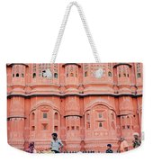 Street Life Of India Weekender Tote Bag