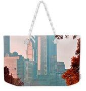The Streets Of Philadelphia Weekender Tote Bag
