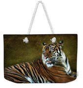 The Sumatran Tiger  Weekender Tote Bag