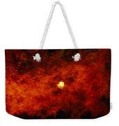 The Sun Peeks Through A Wall Of Flame Weekender Tote Bag