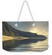 The Sun Sets On A Beautiful Weekender Tote Bag