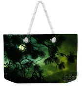 The Sun Through Clouds And Branches  Weekender Tote Bag