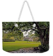 The Sundial Terrace, Glin Castle, Co Weekender Tote Bag