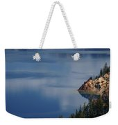 The Surface Of Crater Lake Weekender Tote Bag