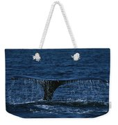 The Tail Flukes Of A Humpback Whale Weekender Tote Bag