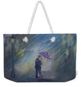 The Taxi Is Coming Weekender Tote Bag