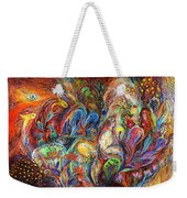 The Temptation Of Eve Weekender Tote Bag