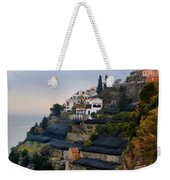 The Terraces Of Amalfi Weekender Tote Bag