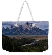 The Tetons - Il Weekender Tote Bag