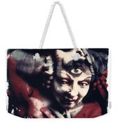 The Third Eye Polaroid Transfer Weekender Tote Bag