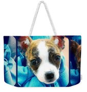 The Three Amigos Teacup Chihuahua Weekender Tote Bag