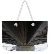 The Three Benicia-martinez Bridges In California - 5d18842 Weekender Tote Bag
