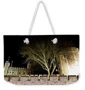 The Tower Of London At Night  Weekender Tote Bag
