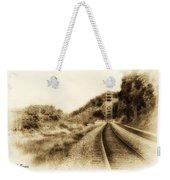 The Tracks Of My Tears Weekender Tote Bag