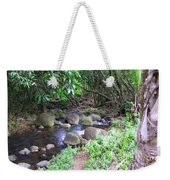 The Trail By The Creek Weekender Tote Bag