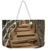 The Trail To The Top Weekender Tote Bag