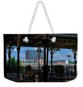The Trainstation In Nashville Weekender Tote Bag