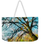 The Tree Of Many Colours  Weekender Tote Bag
