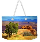 The Tree The Canyon And The Mountains Weekender Tote Bag