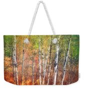The Trees And The Colour Weekender Tote Bag
