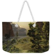 The Trees Are Kissed By Sunlight Weekender Tote Bag