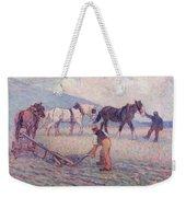 The Turn - Rice Plough Weekender Tote Bag