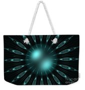 The Turquoise Sun Weekender Tote Bag