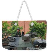 The Turret Of The Leopard 1a5 Main Weekender Tote Bag