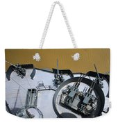 The Twin Bofors 40mm Anti-aircraft Weekender Tote Bag by Michael Wood