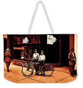 The Two Boys Weekender Tote Bag