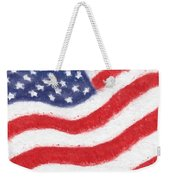The United States Flag Weekender Tote Bag