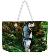 The Unknown Construction Worker In London Weekender Tote Bag
