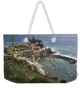 The Village Of Vernazaa On Italys Weekender Tote Bag