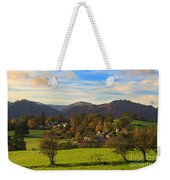 The Village Of Watermillock In Cumbria Uk Weekender Tote Bag