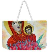 The Virgin And The Child Weekender Tote Bag