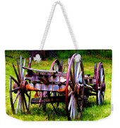 The Wagon At El Prado Weekender Tote Bag