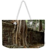 The Wall At Ta Prohm Weekender Tote Bag