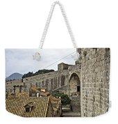 The Wall In Dubrovnik Weekender Tote Bag