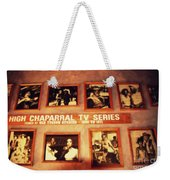 The Wall Of Fame In Old Tuscon Az Weekender Tote Bag
