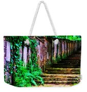 The Wall Of Gravestones Weekender Tote Bag