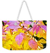 The Warm Glow In Autumn Abstract Weekender Tote Bag