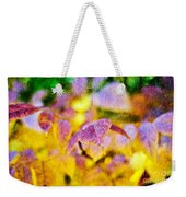 The Warmth Of Autumn Glow Abstract Weekender Tote Bag