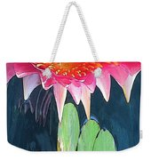 The Water Lily Unleashed Weekender Tote Bag