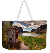 The Water Shed Weekender Tote Bag by Tara Turner