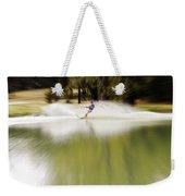 The Water Skier 1 Weekender Tote Bag