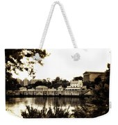 The Waterworks In Sepia Weekender Tote Bag